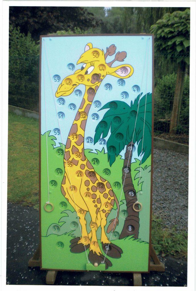 Le cou de la Girafe